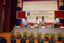 Visit of Prof. Samir Kumar Brahmachari, Former DG CSIR as chief guest, National Science Day celebrations