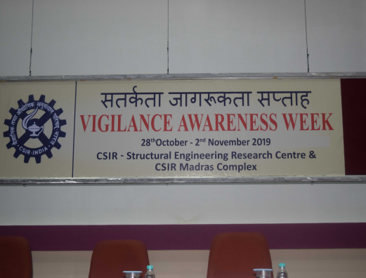 VIGILANCE AWARENESS WEEK - VALEDICTORY FUNCTION